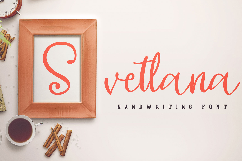 Svetlana - cute scrip example image 1
