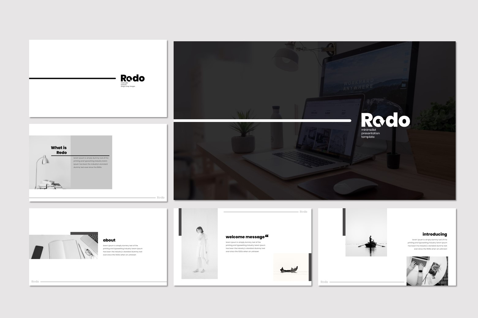 Redo - Keynote Template example image 3