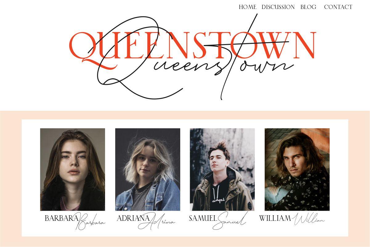 Queenstown // Font Duo Vol.01 example image 11