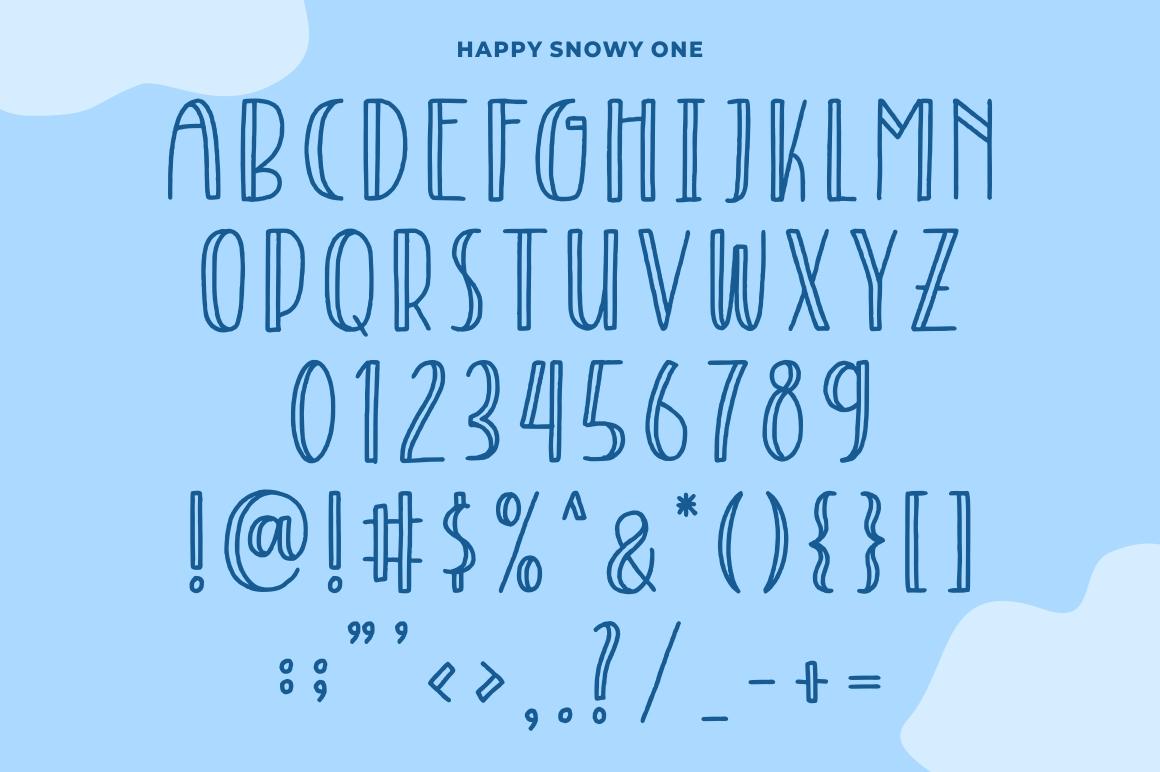 Happy Snowy example image 3