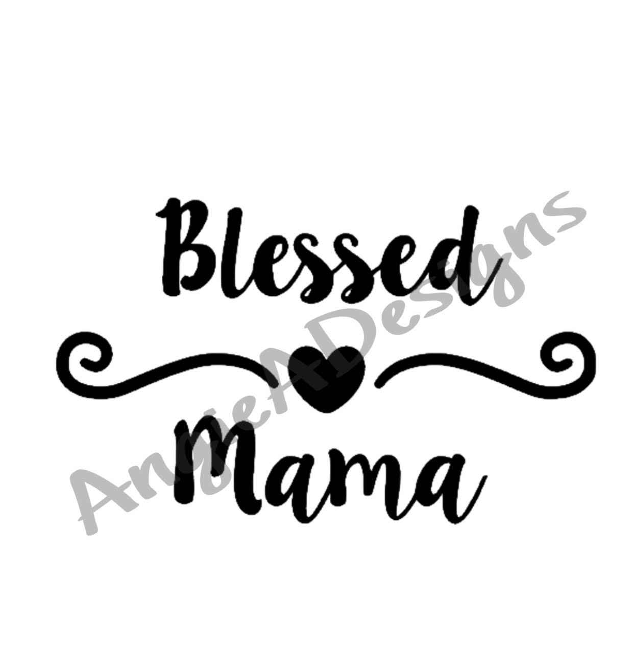 Blessed Mama example image 1