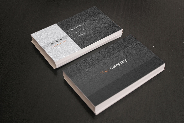 Minimal Buisness Card example image 4