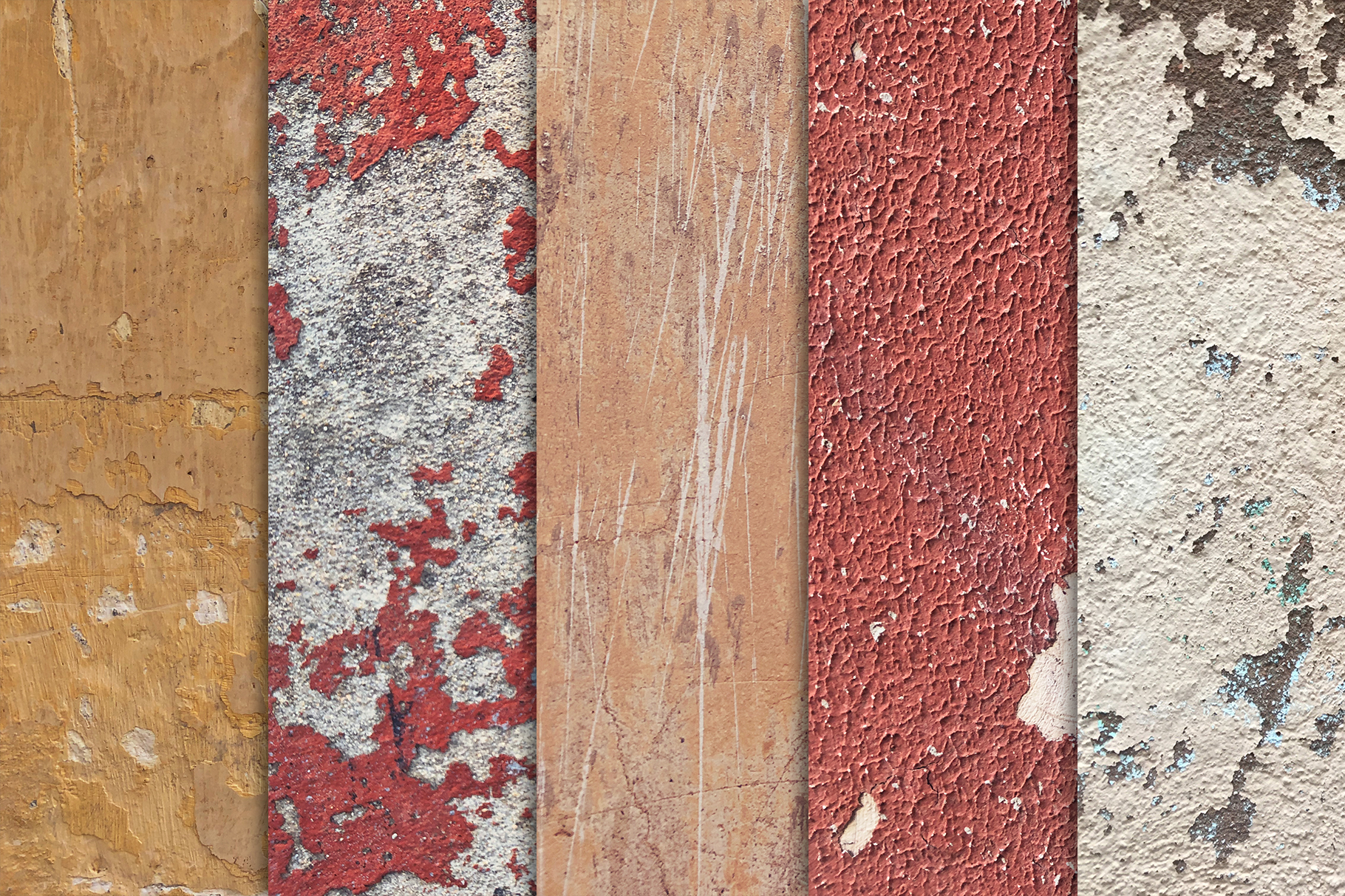 Grunge Wall Textures x10 vol2 example image 3