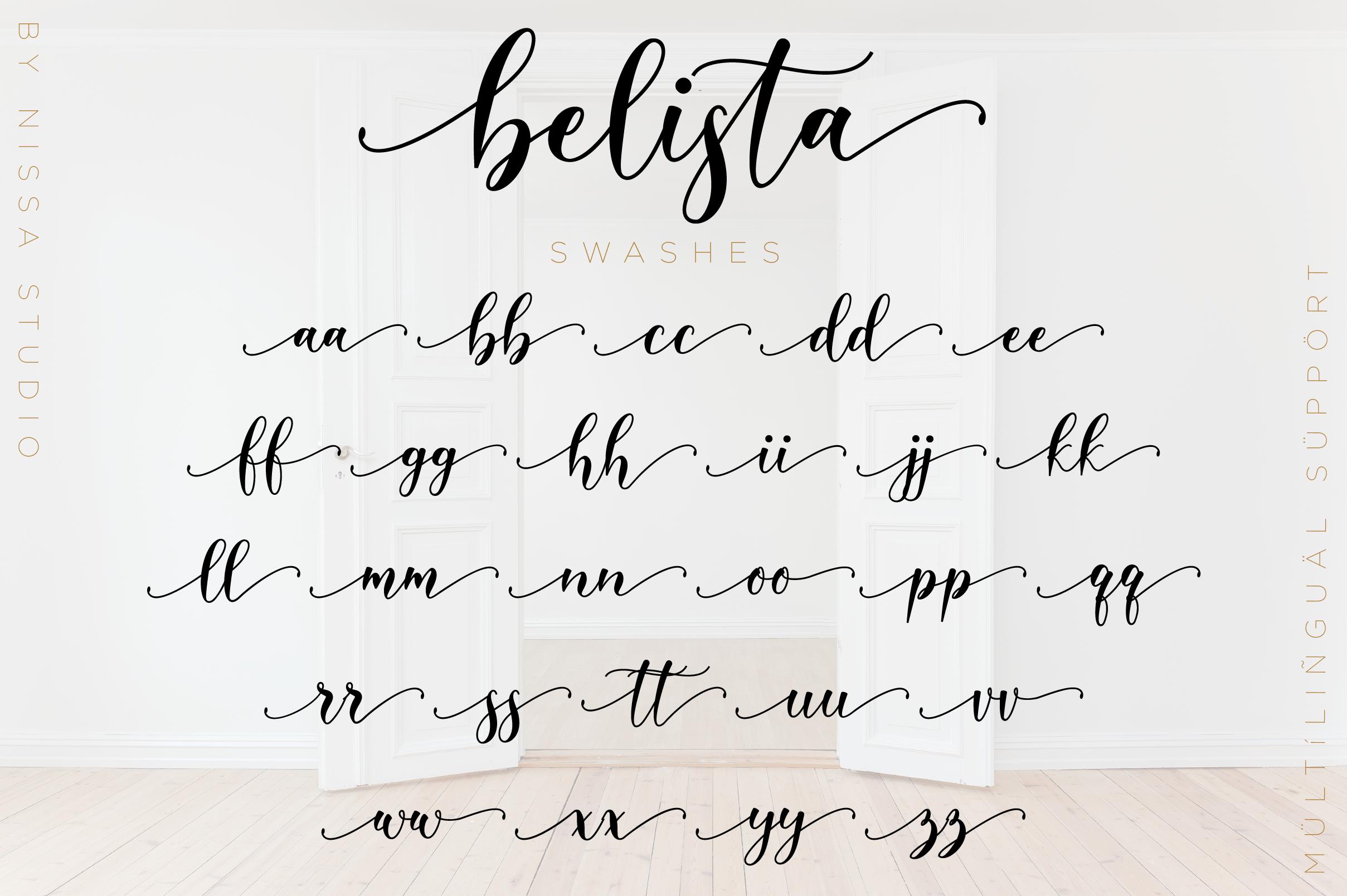 Belista Script example image 12