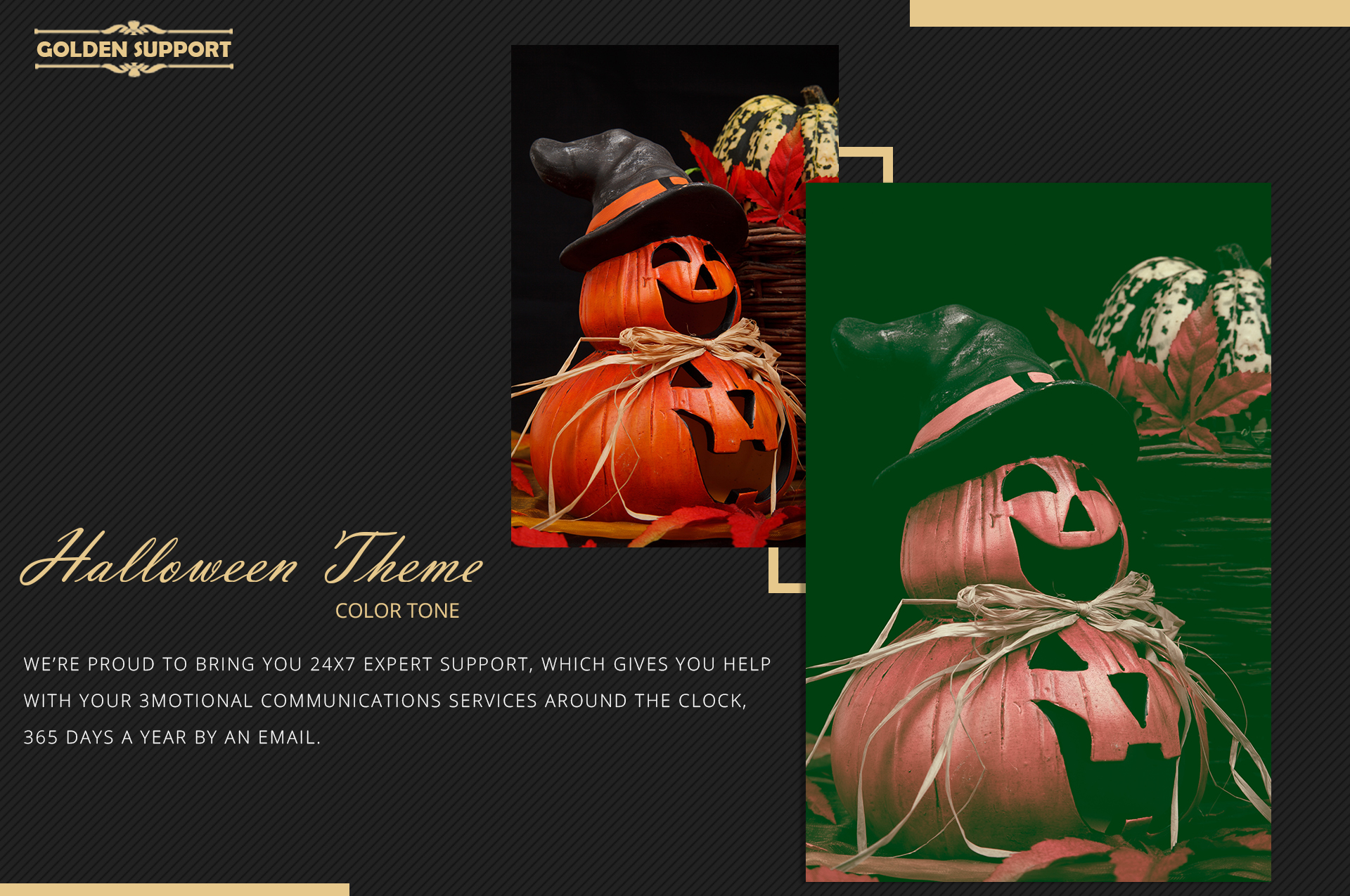 Halloween Theme color grading Photoshop Actions example image 9