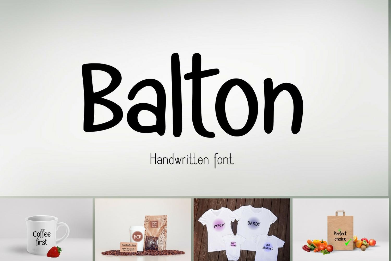 Balton Font example image 1