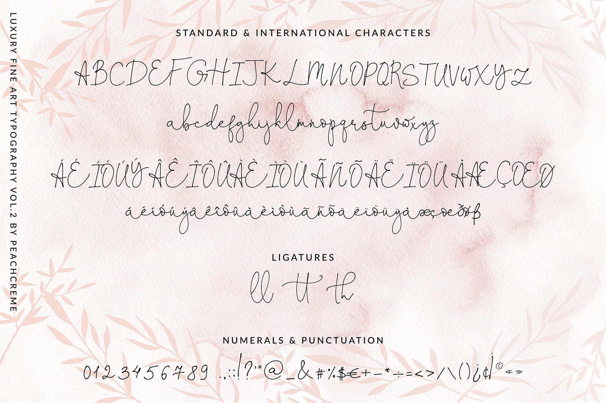 Oh Darling- Ethereal Script Font example image 2