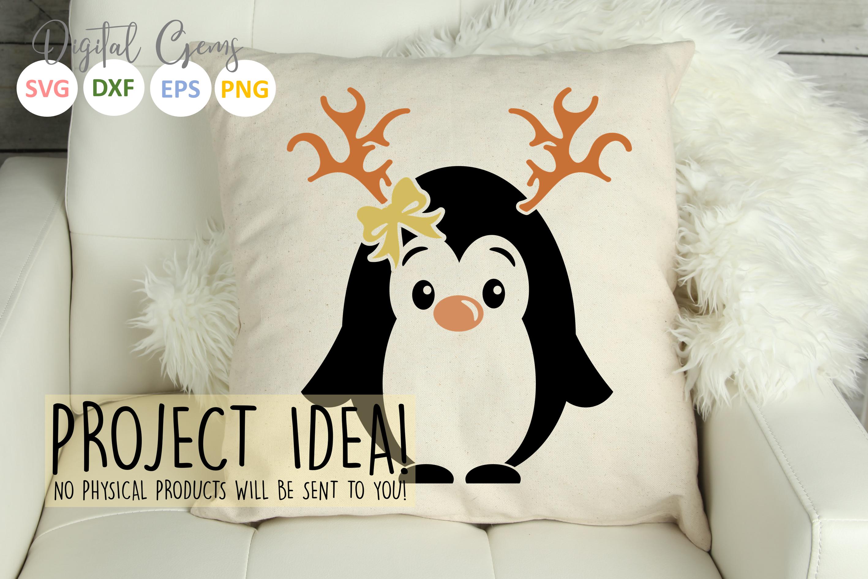 Penguin Reindeer, Christmas designs example image 7