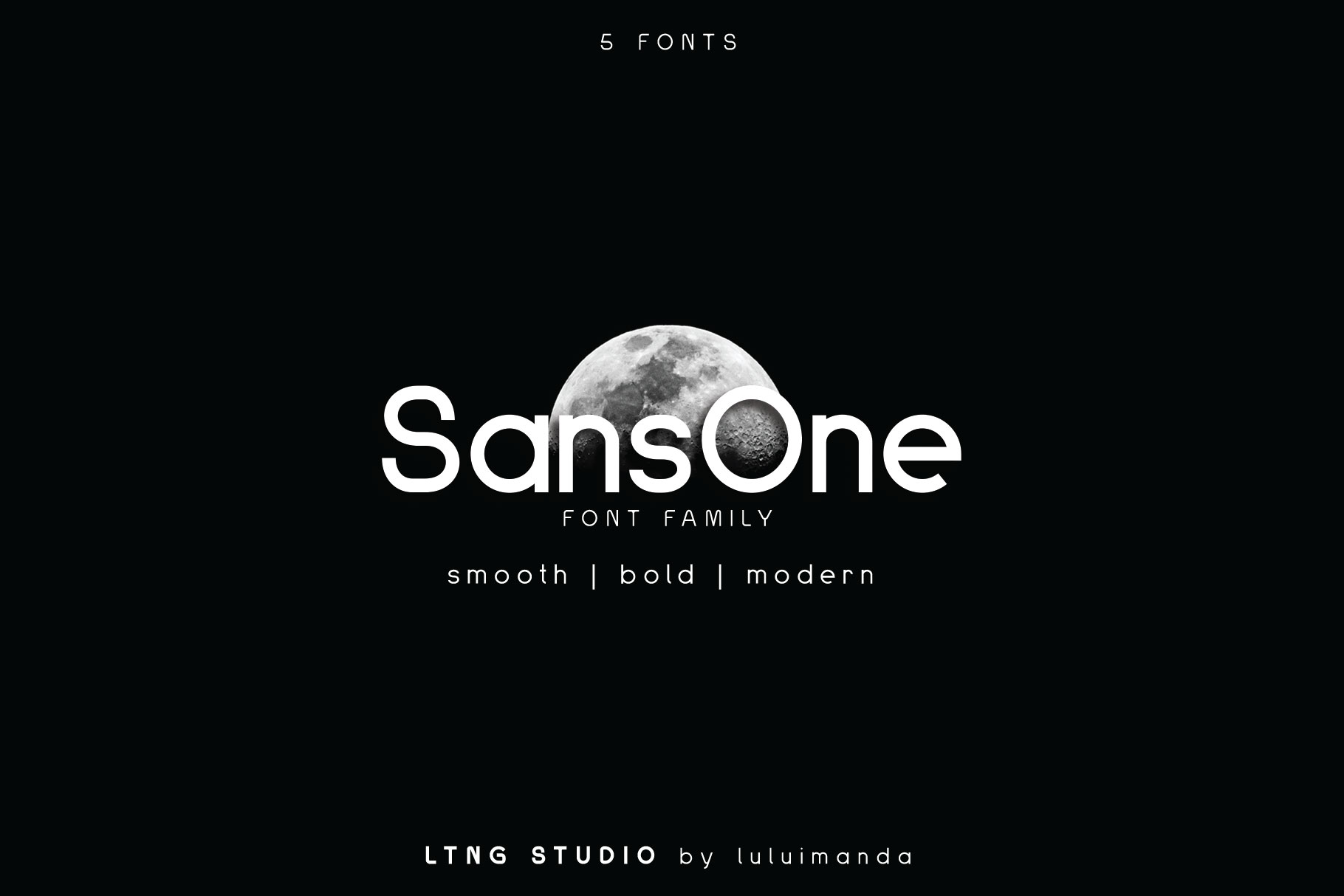 Sans One Font family example image 1
