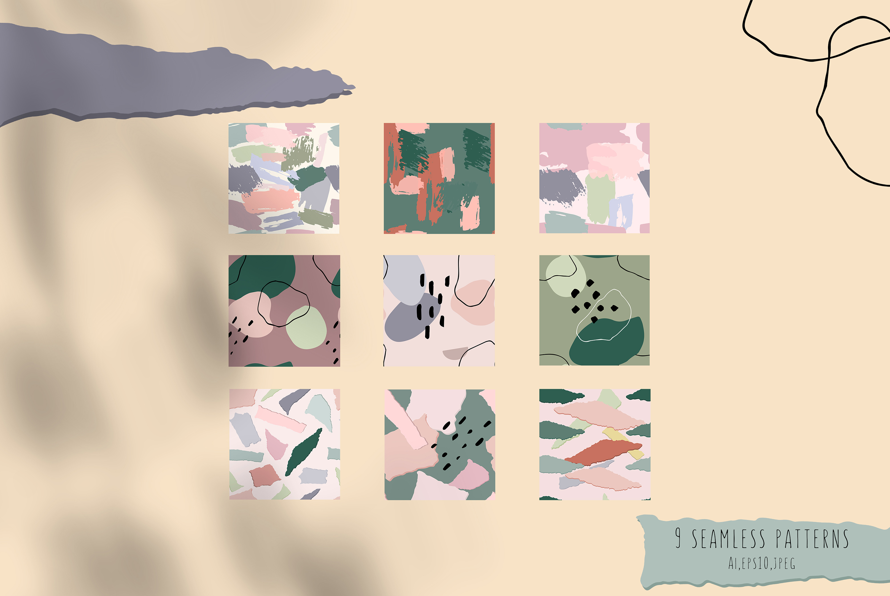 Abstract Shapes. Graphic Collection example image 7