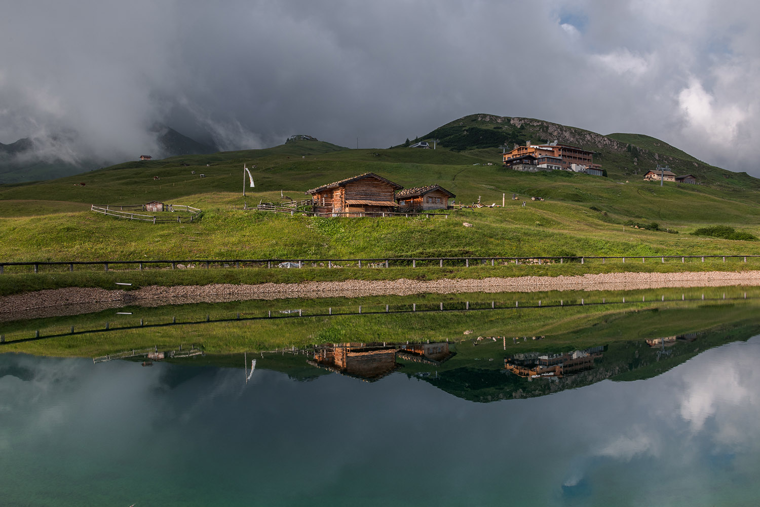Reflection at Seiser Alm example image 1