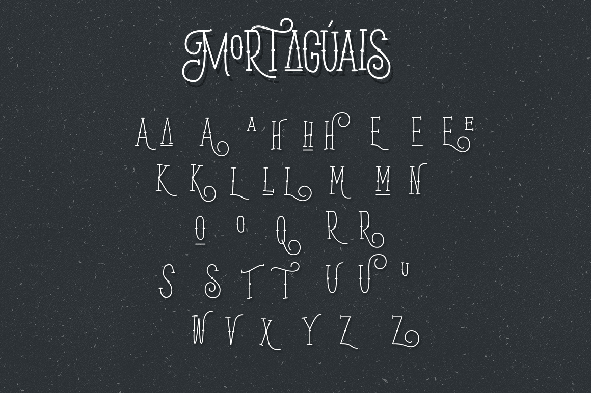 Mortaguais Typeface example image 11