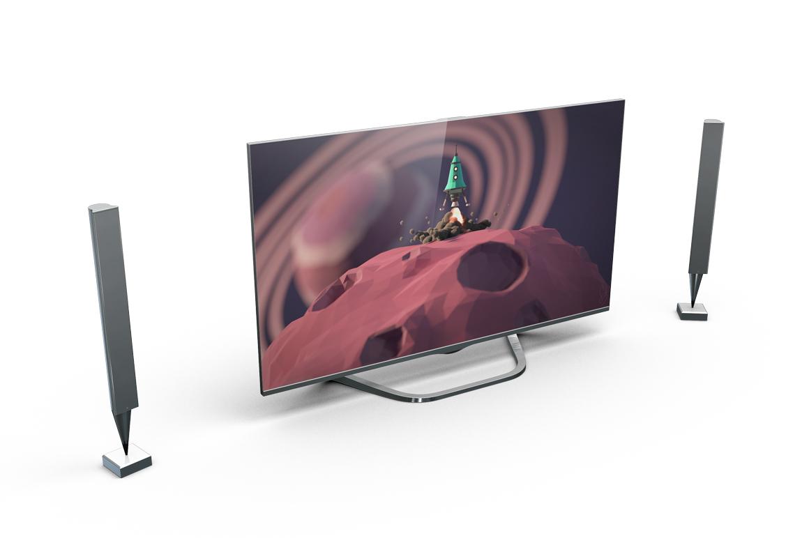 Smart TV Mockup example image 6