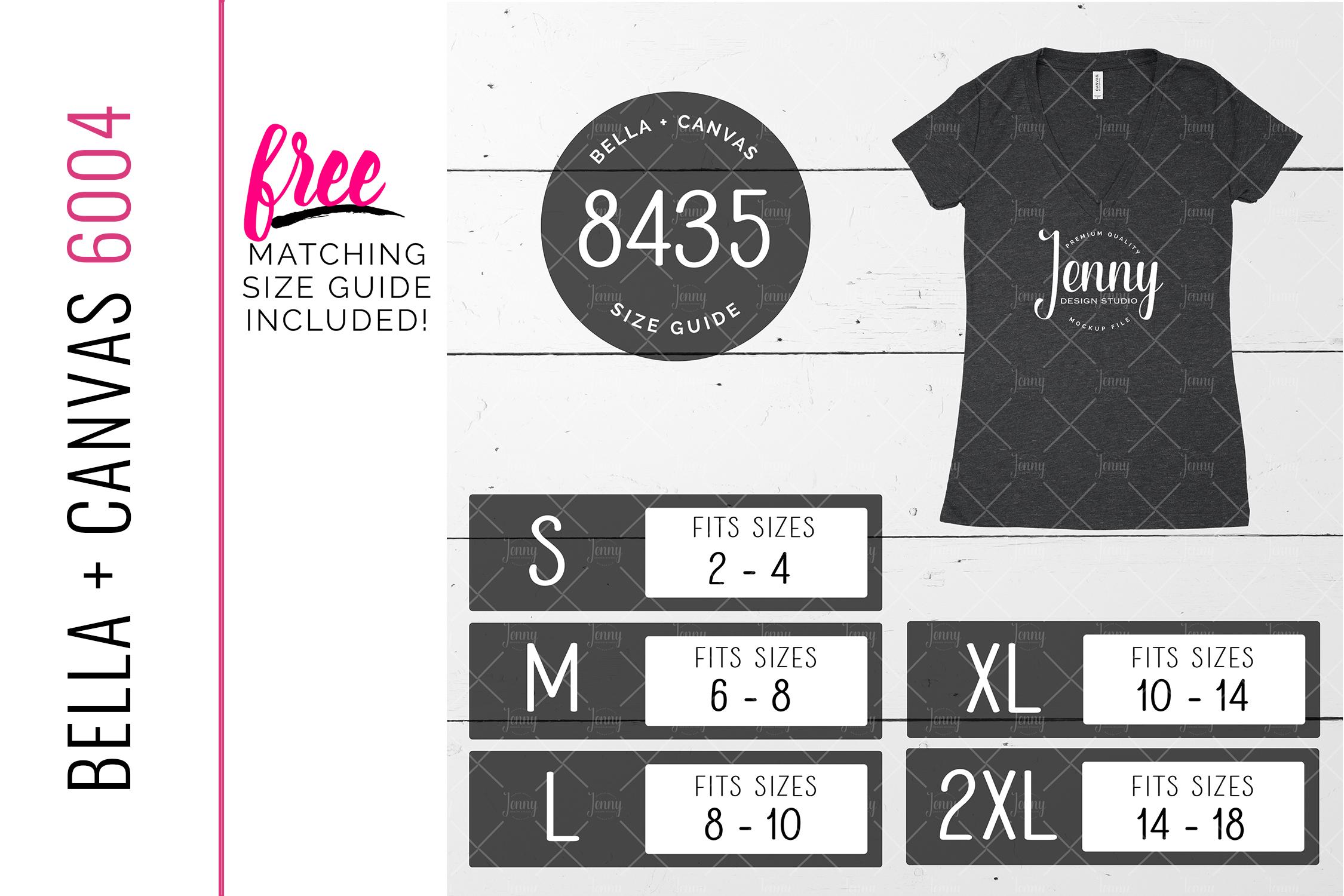 Bella Canvas 8435 Unisex Mockup Bundle, Womens T-Shirt example image 2