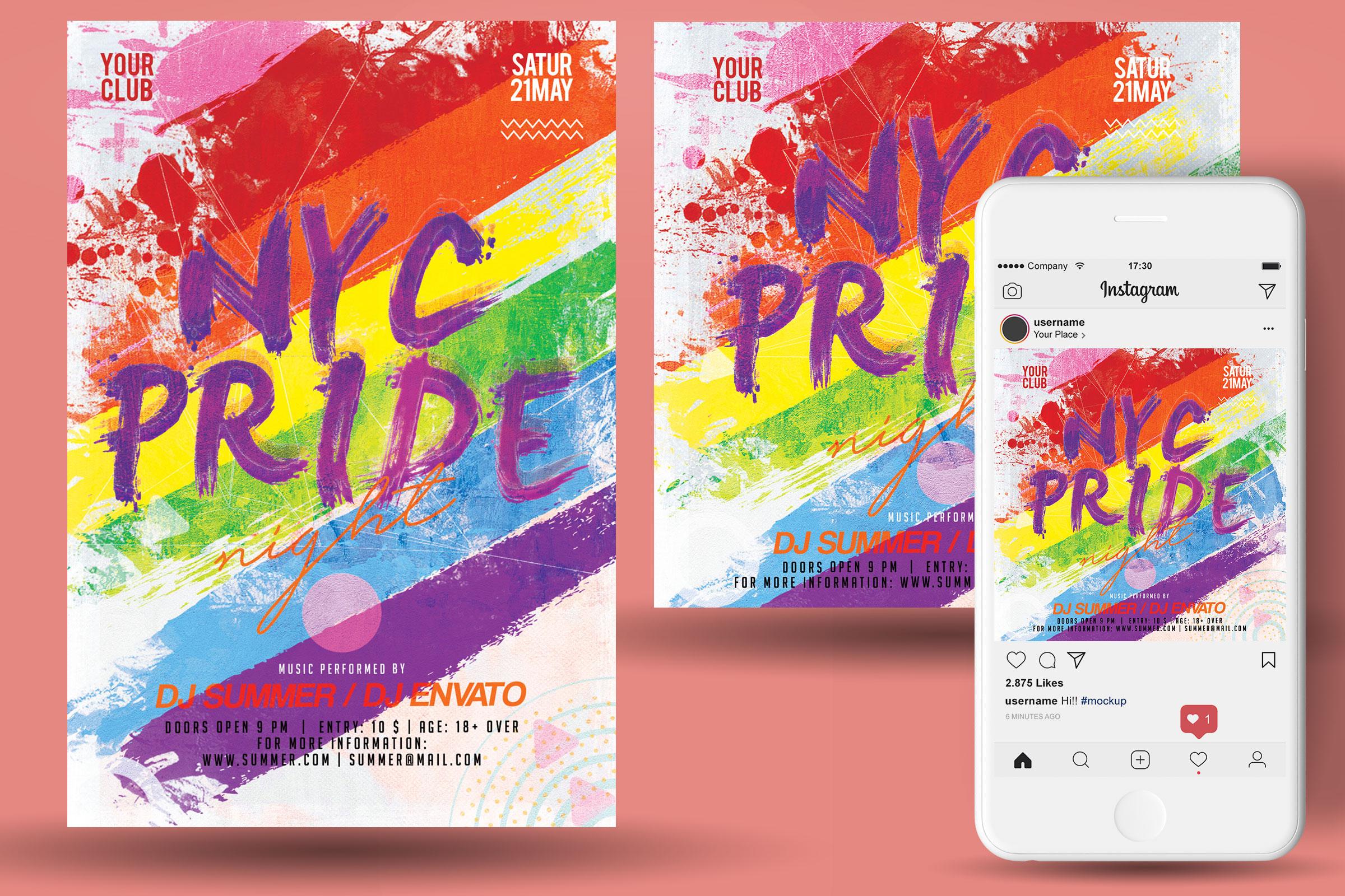 Pride Flyer example image 2