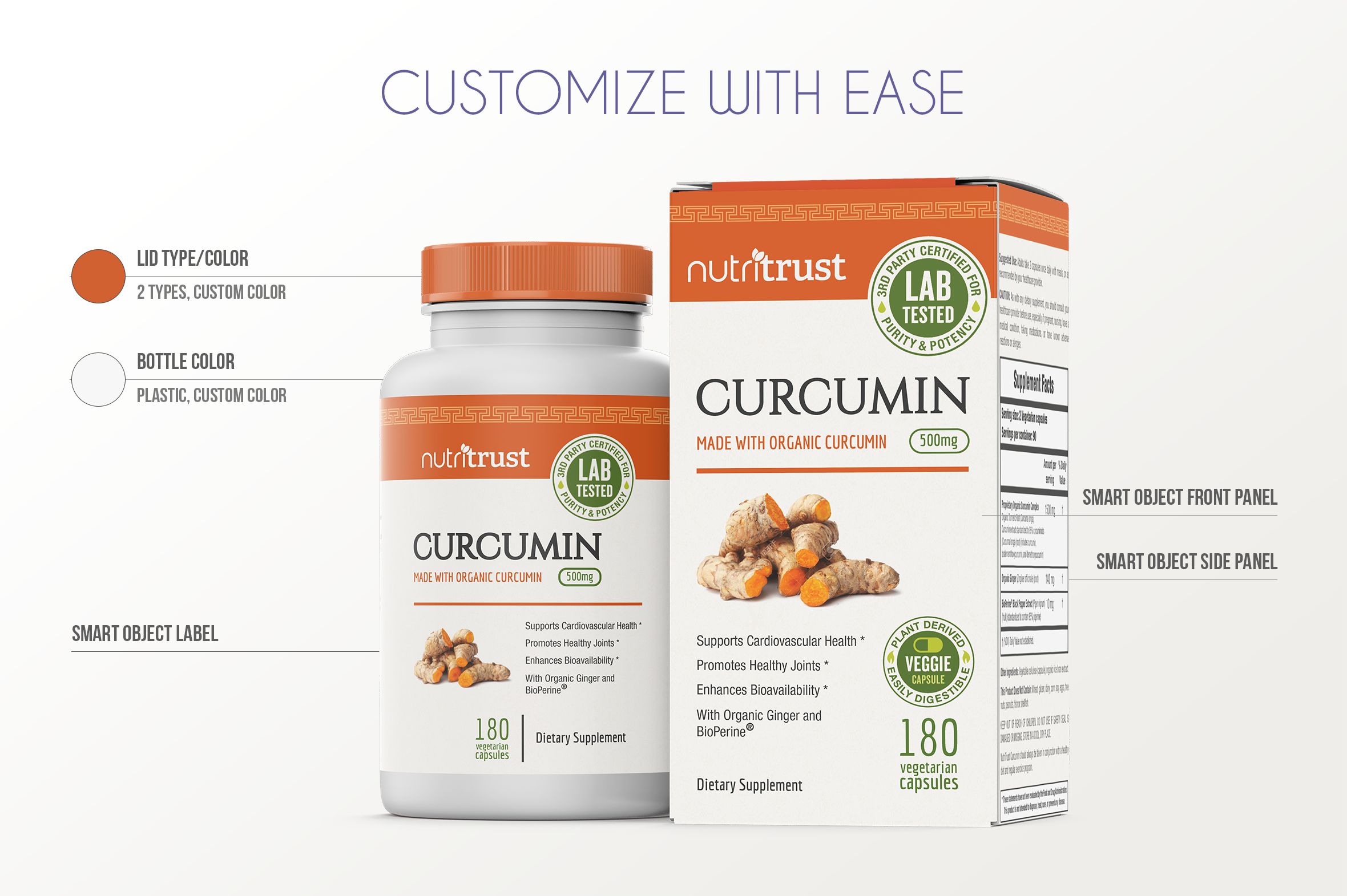 Dietary Supplement Mockup v. 1C example image 2