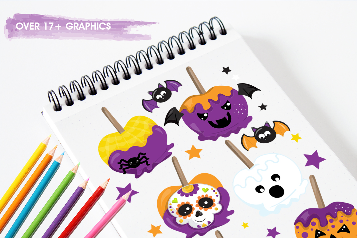 Pumpkin graphic and illustrations example image 5