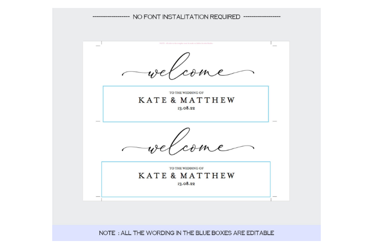 Seating Chart Frame example image 3