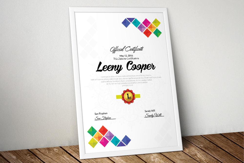 10 Certificates & Diploma Bundle example image 2