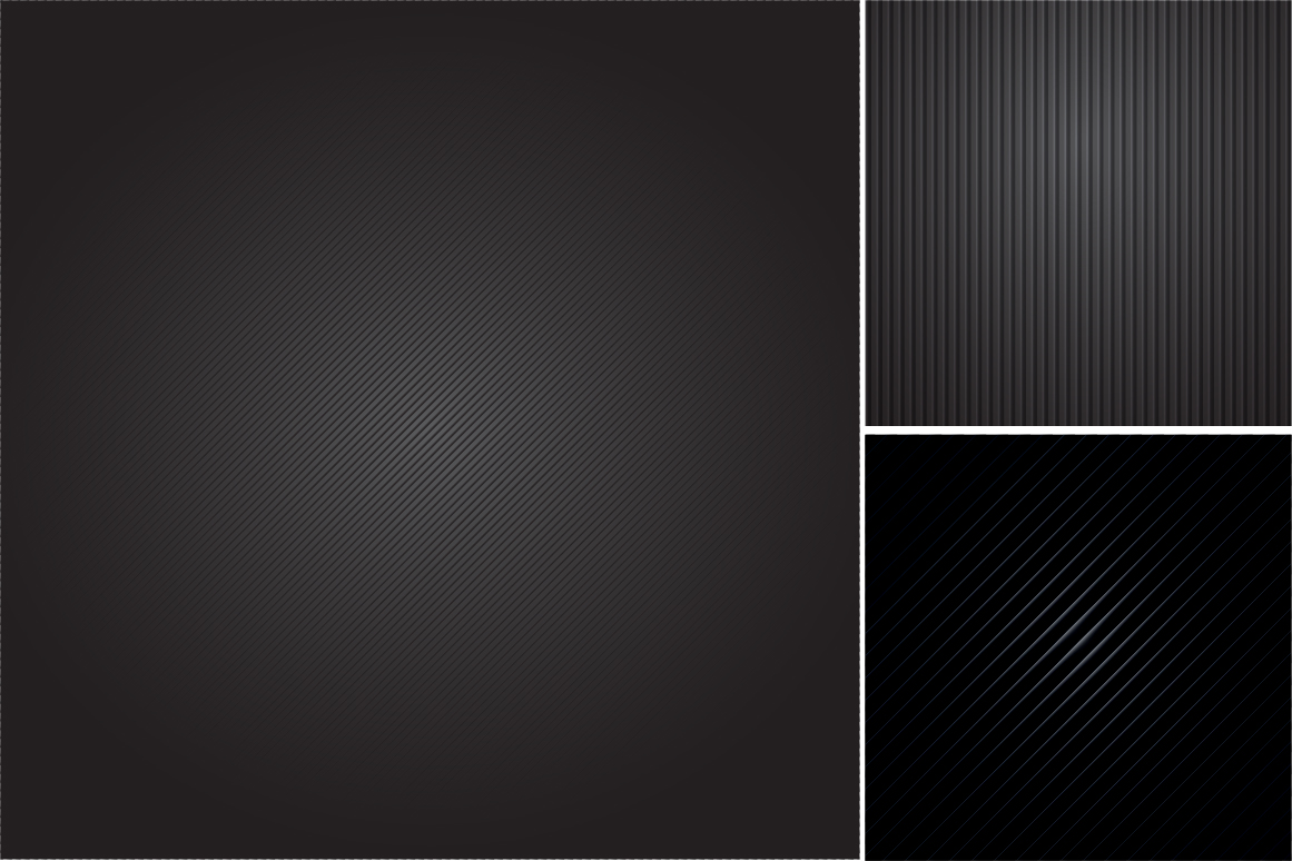 Colleciton of black striped textures example image 2