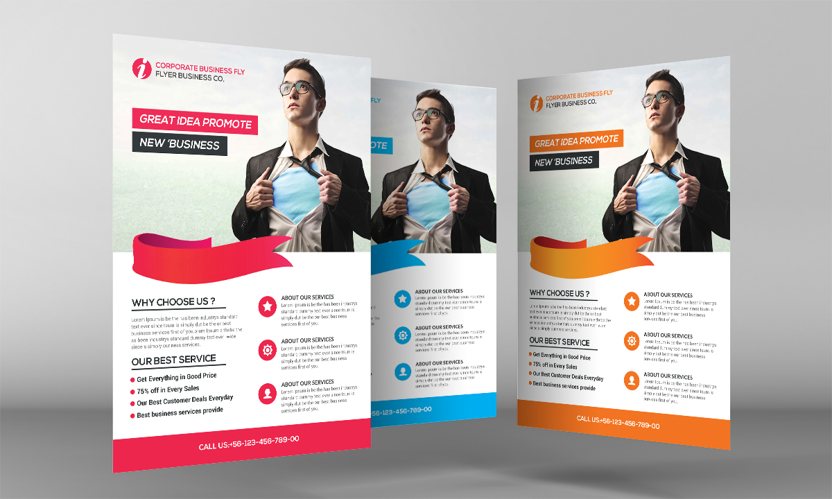 Light Business Flyer example image 3