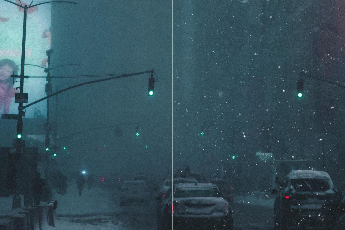 100 Snow Overlays example image 10