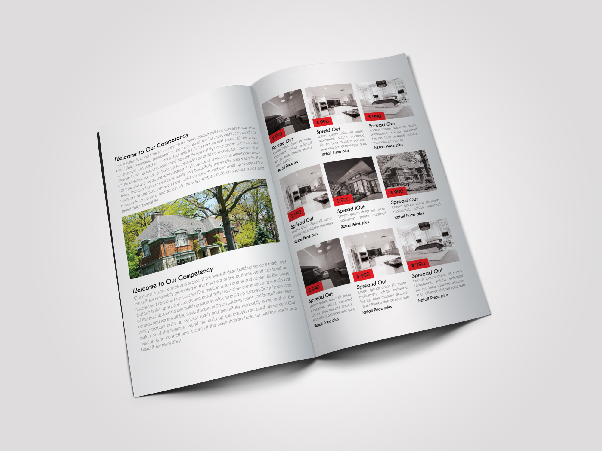 12 Pages Luxury Business Bifold Brochure example image 7