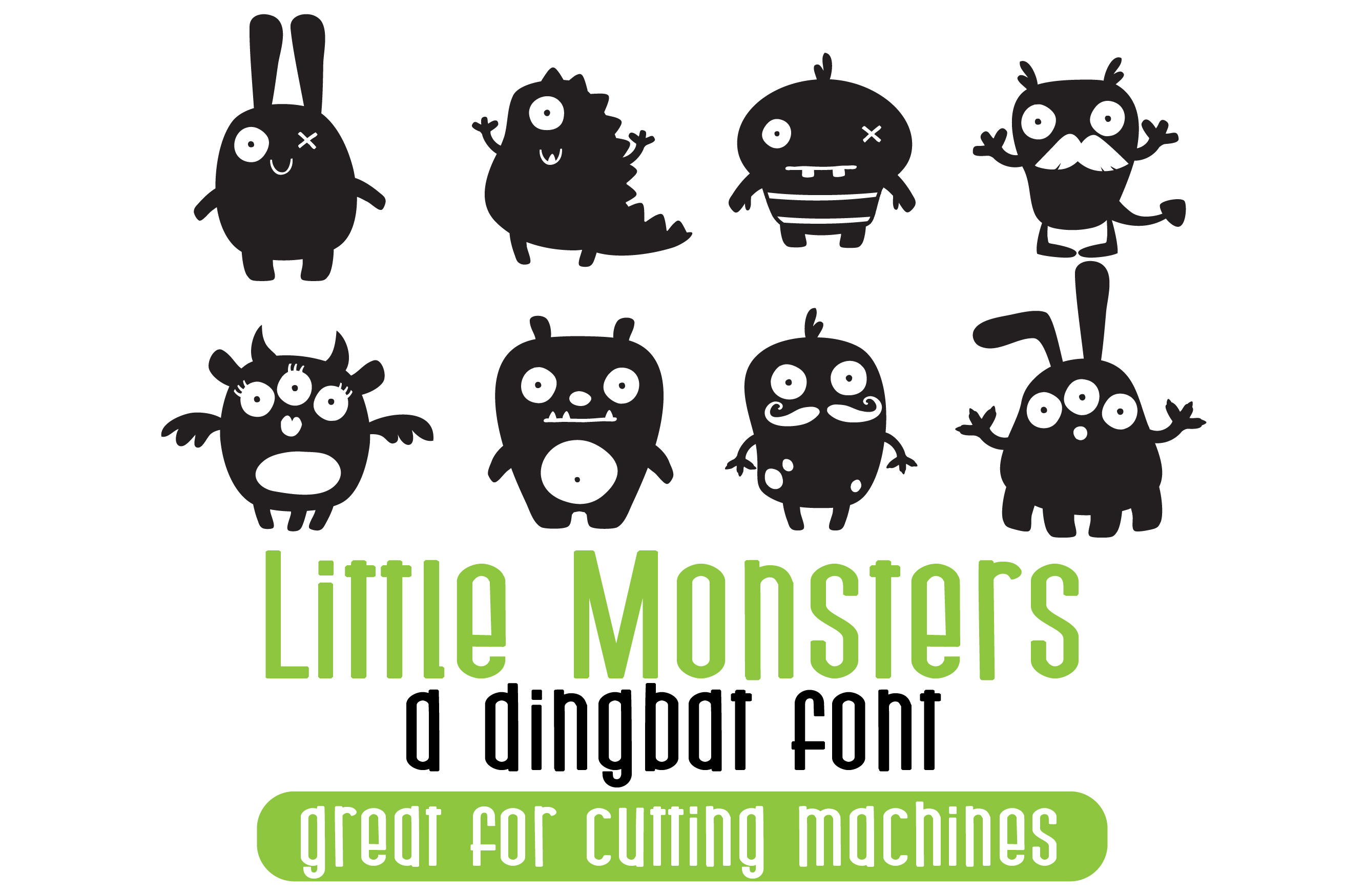 DB Little Monsters example image 1