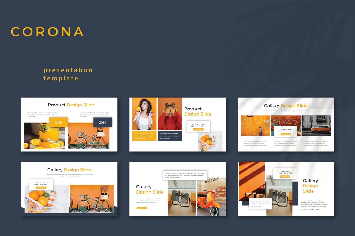 CORONA - Google Slides example image 5