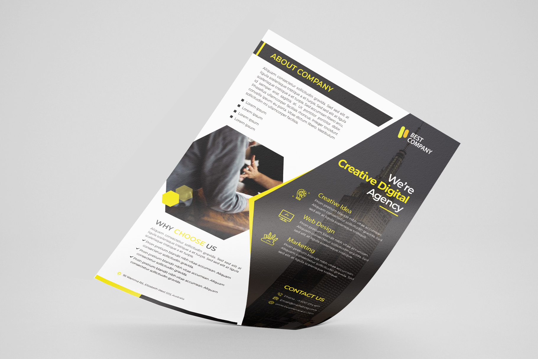 Creative Corporate Flyer Vol. 02 example image 1