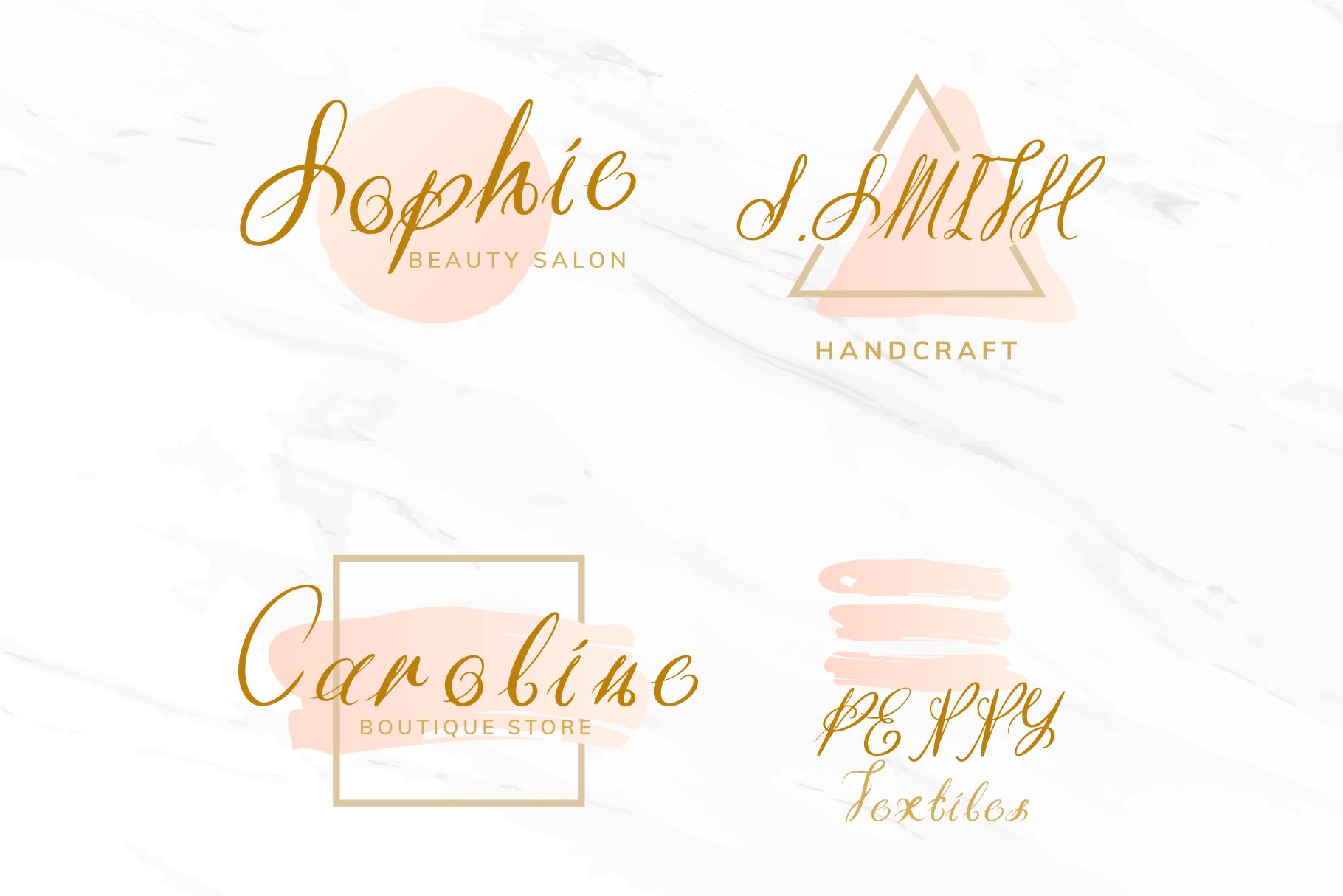 Efeymen Luxury Signature Font example image 8