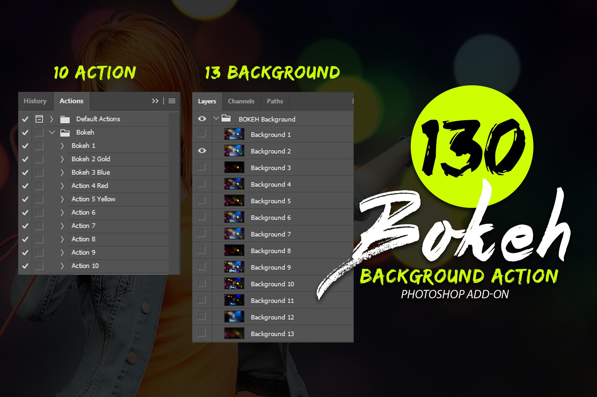 130 Bokeh Photoshop Action example image 6