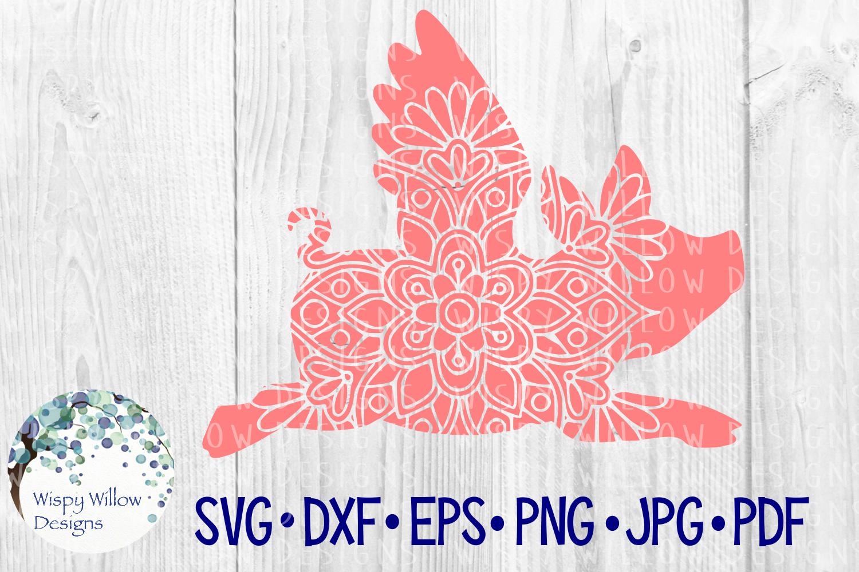 62 File Mega Floral Mandala Animal/Figure SVG Bundle example image 22