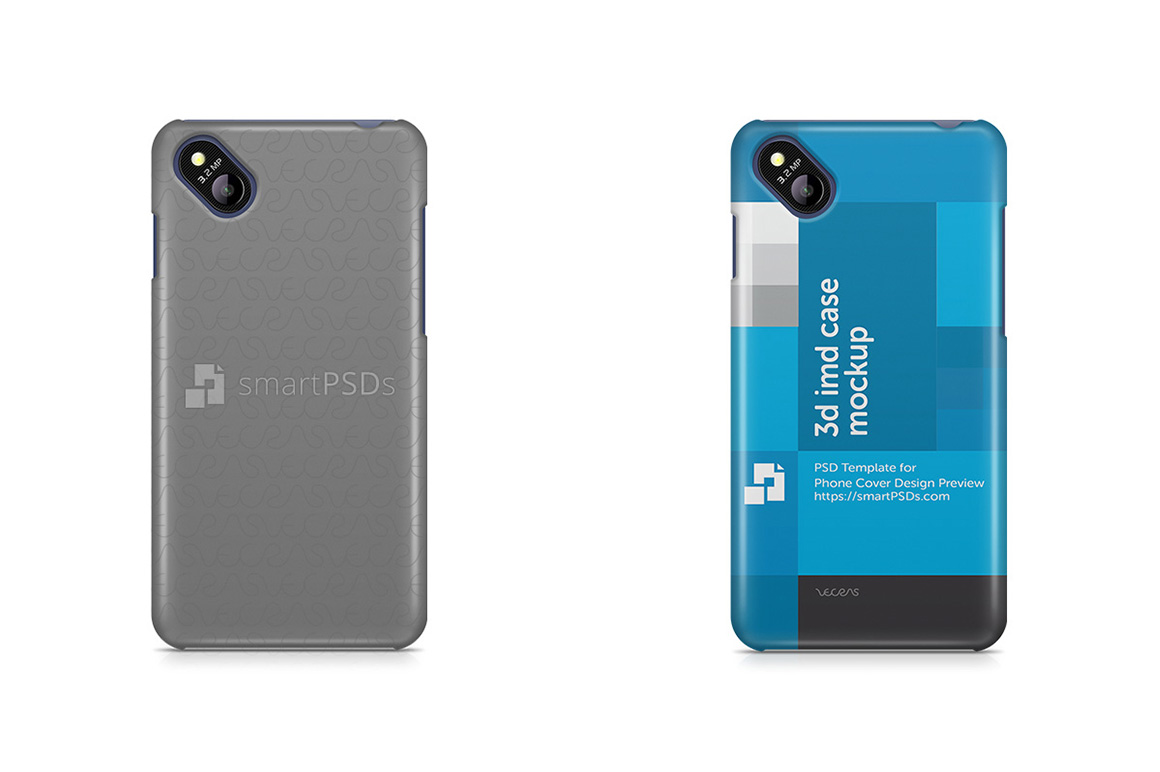 Micromax Bolt D303 3d IMD Mobile Case Design Mockup 2015 example image 1