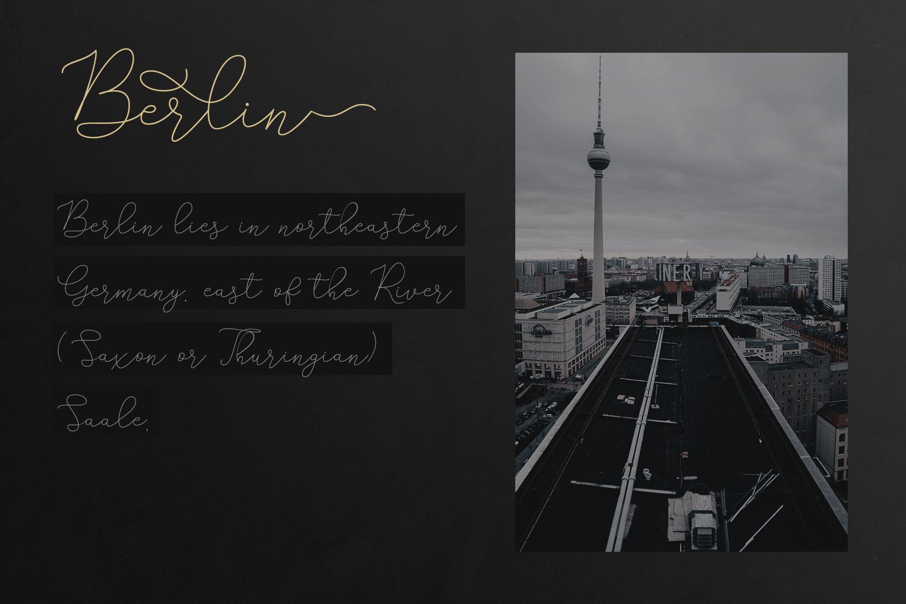Adelya - Elegant Signature Font example image 6