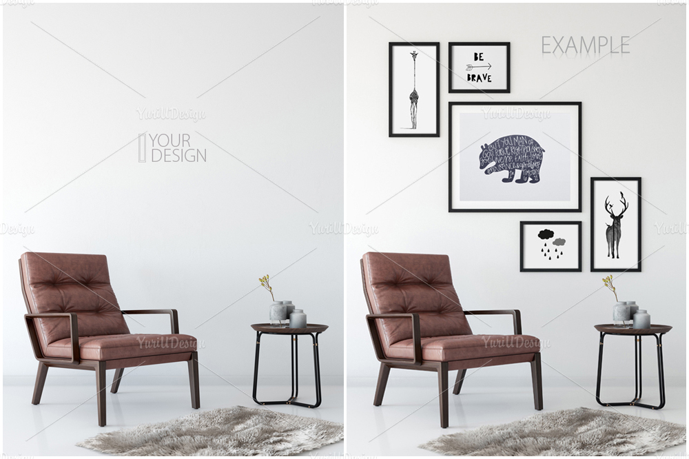 Wall Mockup - Bundle Vol. 1 example image 7