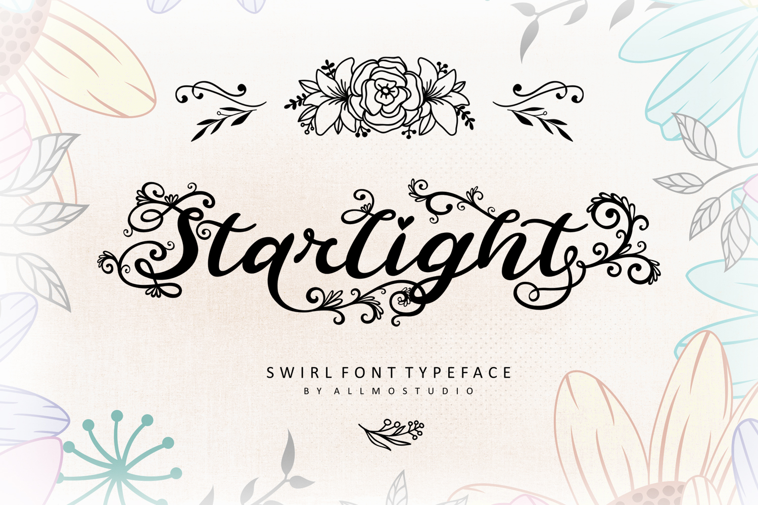 Starlight Font example image 1