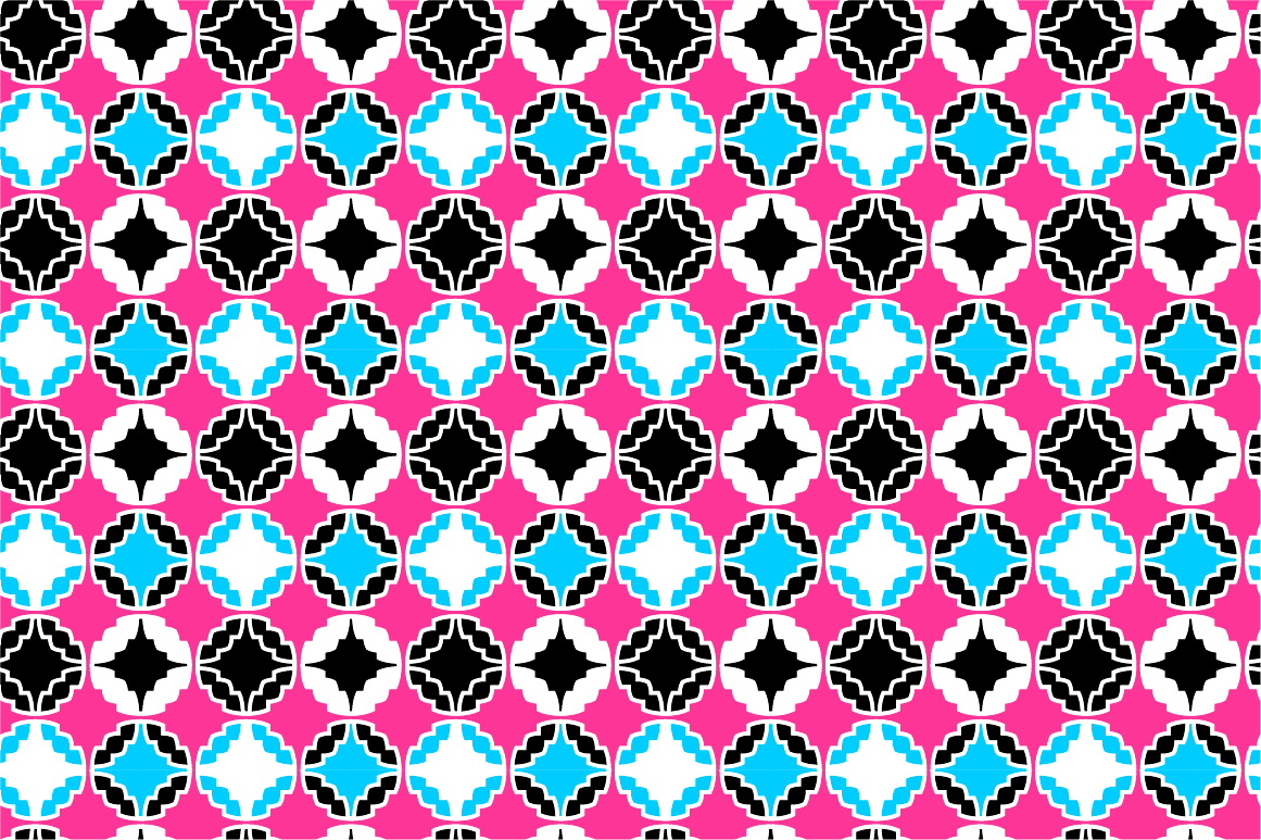 Colorful ornamental patterns. example image 8