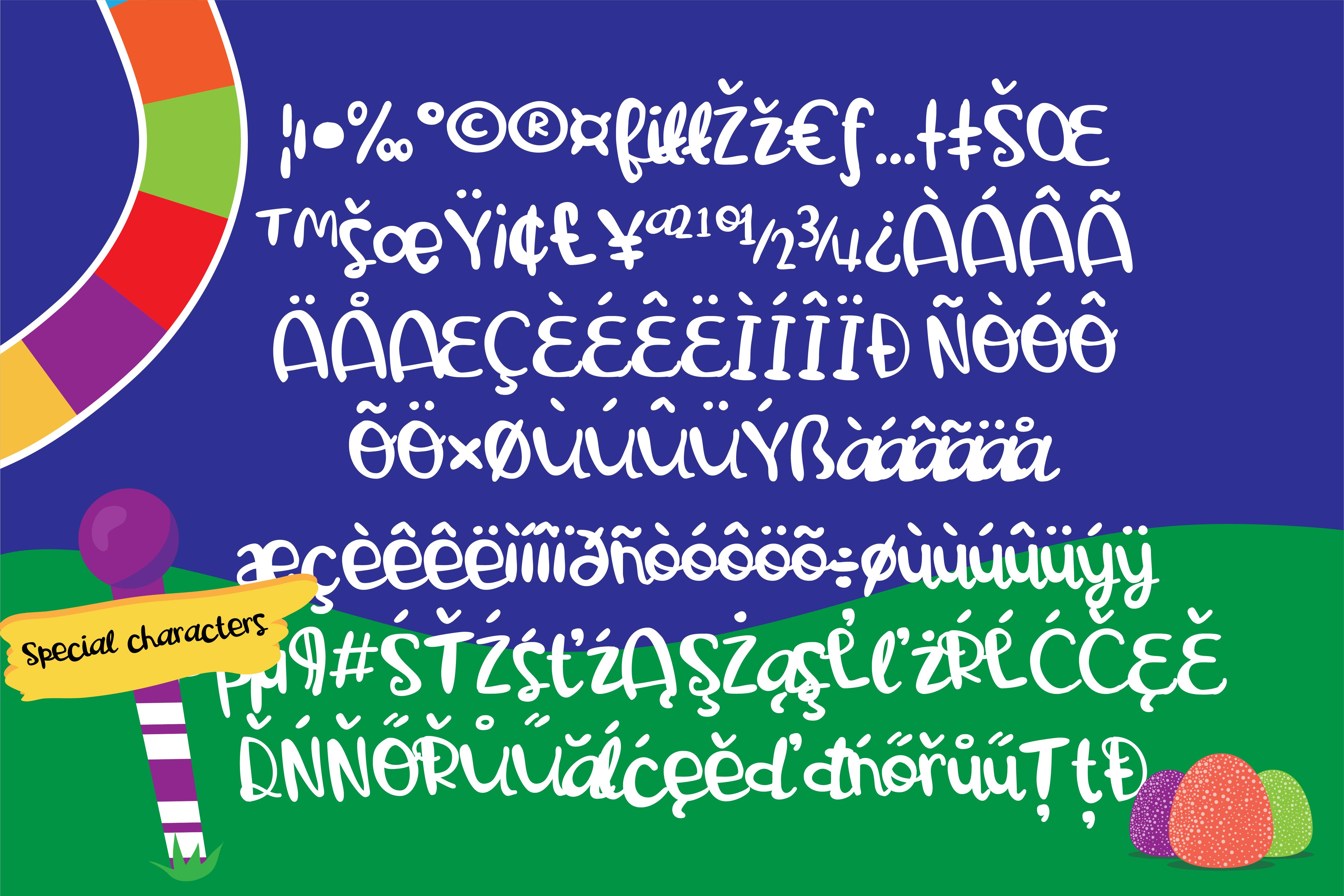 PN Gooey Gumdrops Script example image 3