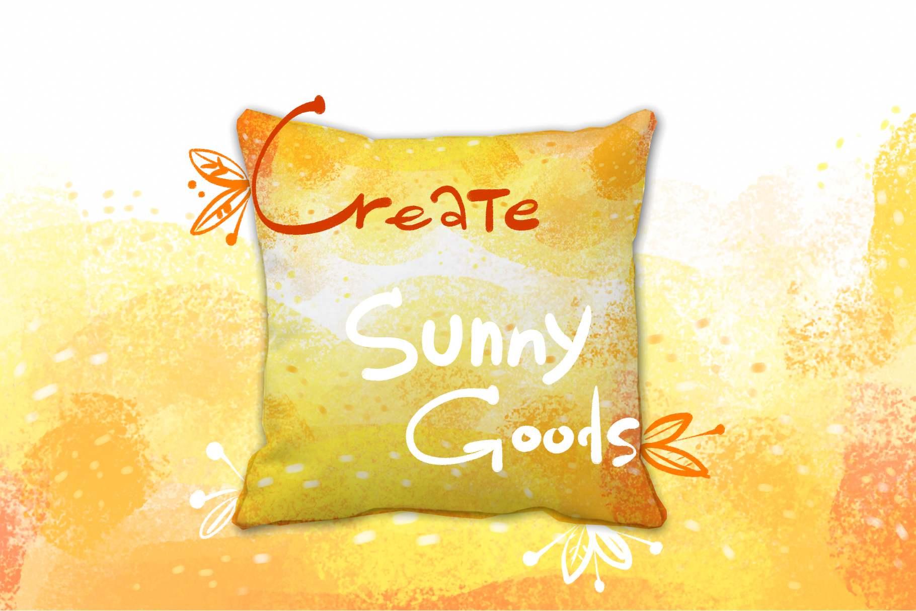 Warm Autumn sunny pastel backgrounds example image 3