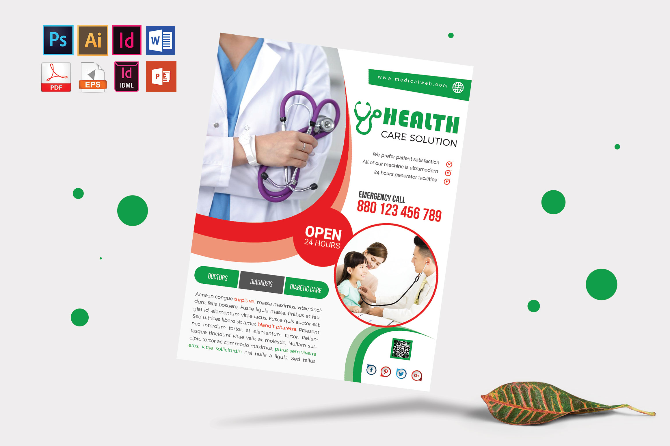Doctor & Medical Flyer. Vol-05 example image 1