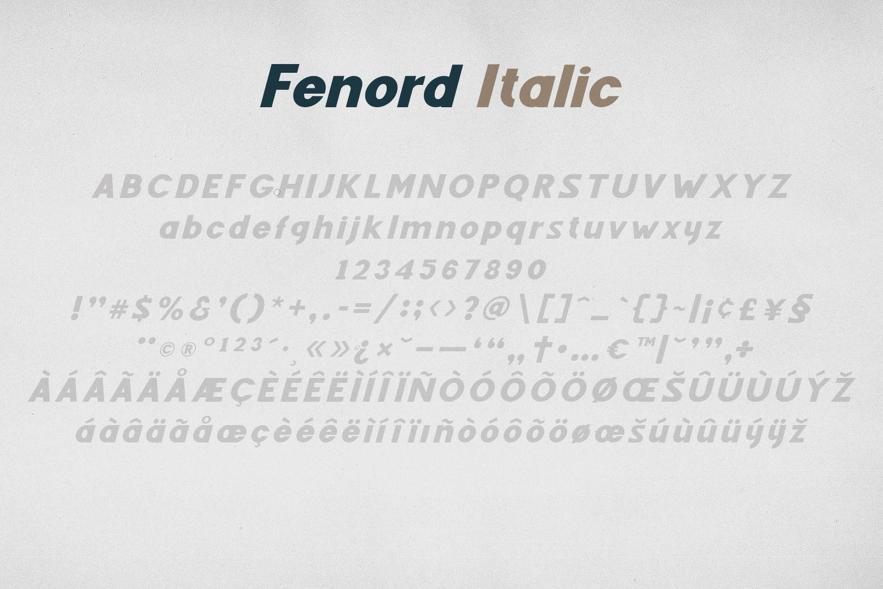 Fenord - Old School Sans Serif example image 4