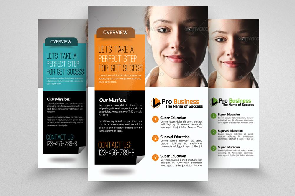 6 Creative Business Flyers Bundle example image 2