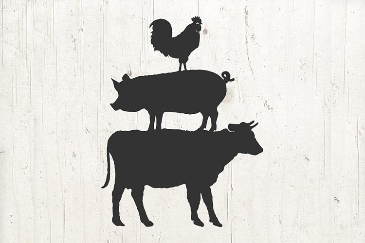 Farm Animal SVG - Farm SVG - Farm Animals Svg - Farmhouse example image 2