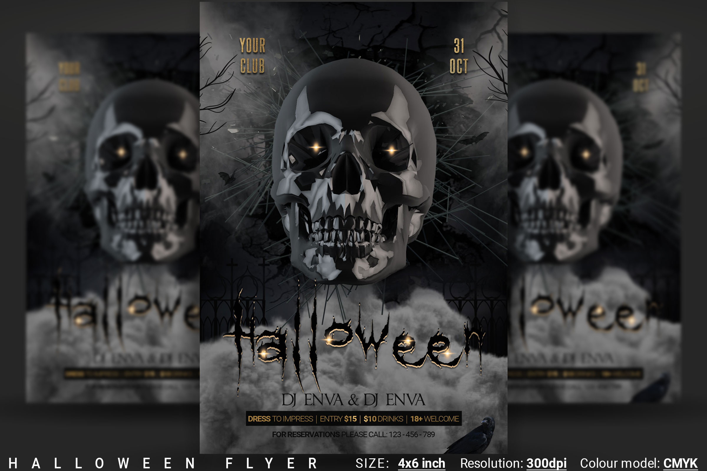 Halloween Flyer example image 1