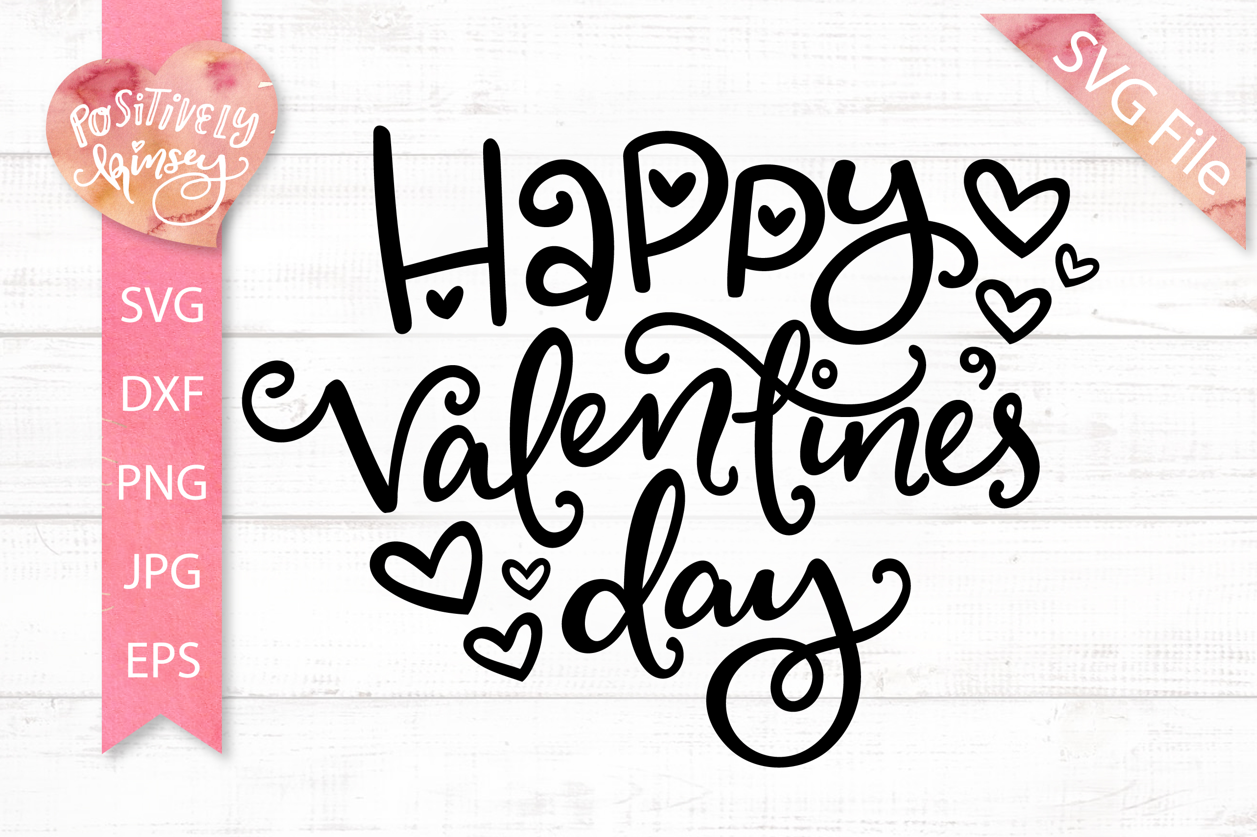 Happy Valentines Day SVG, for Valentine Shirts & Card Making example image 2