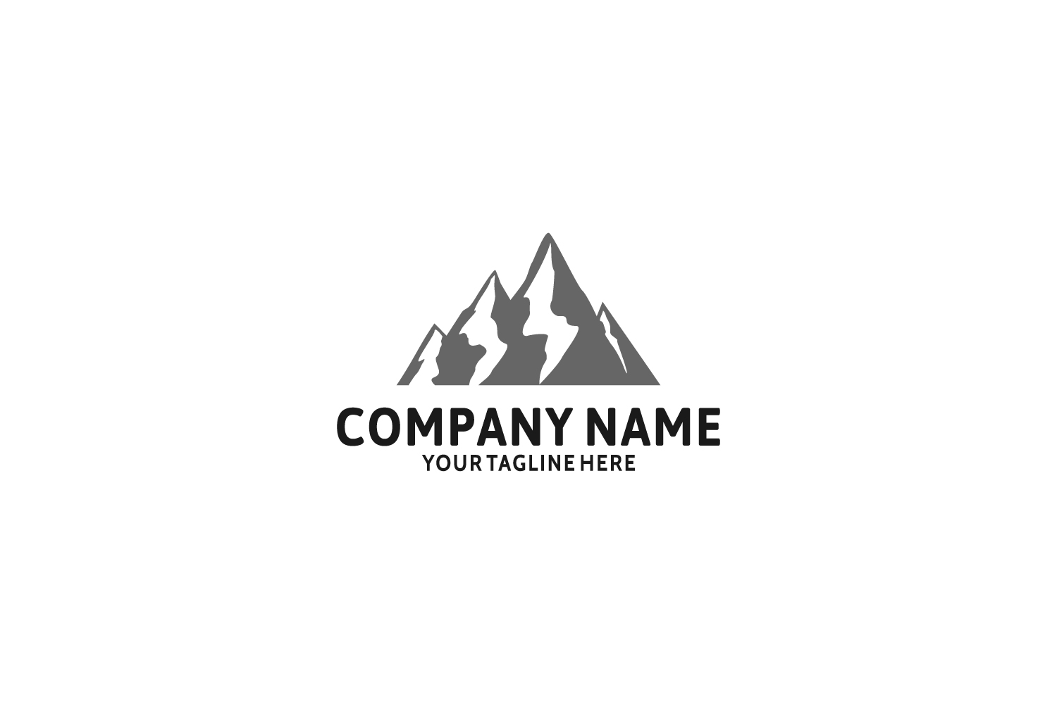 Mountain Logo Template example image 1