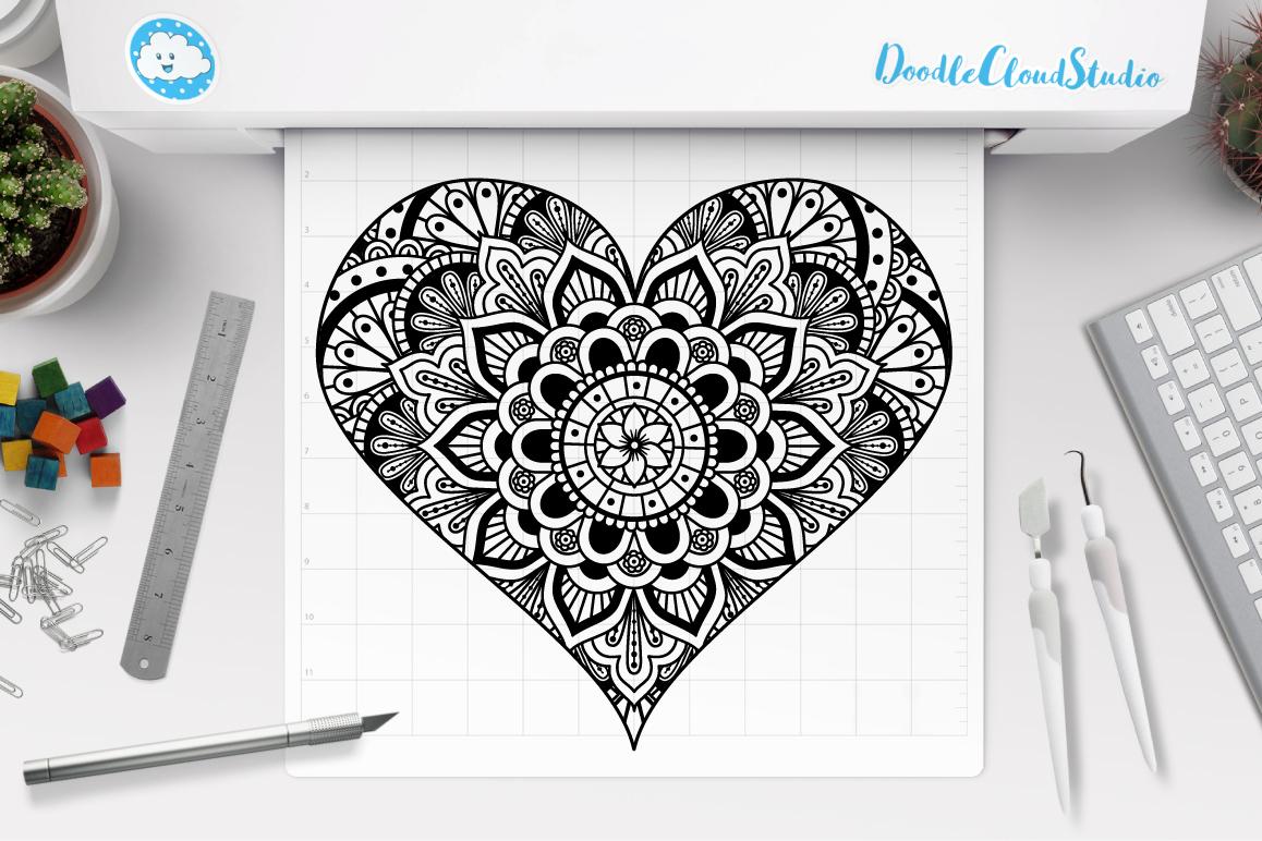 Zentangle Drawing at GetDrawings | Free download |Zentangle Heart Graphics