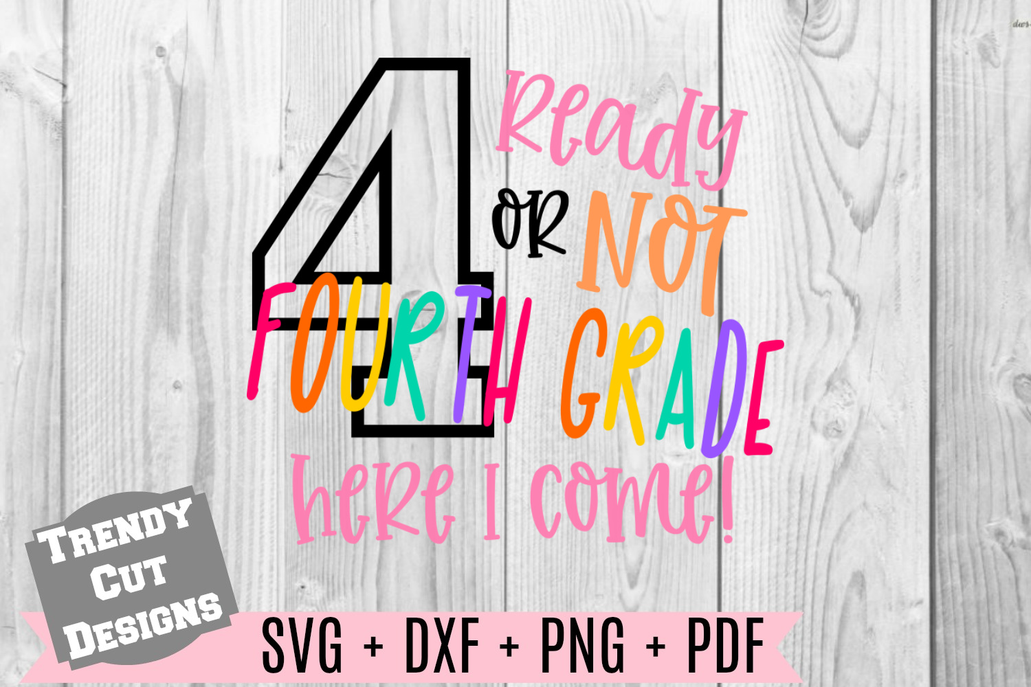 Bundle, Ready or Not here I come Back to School example image 7