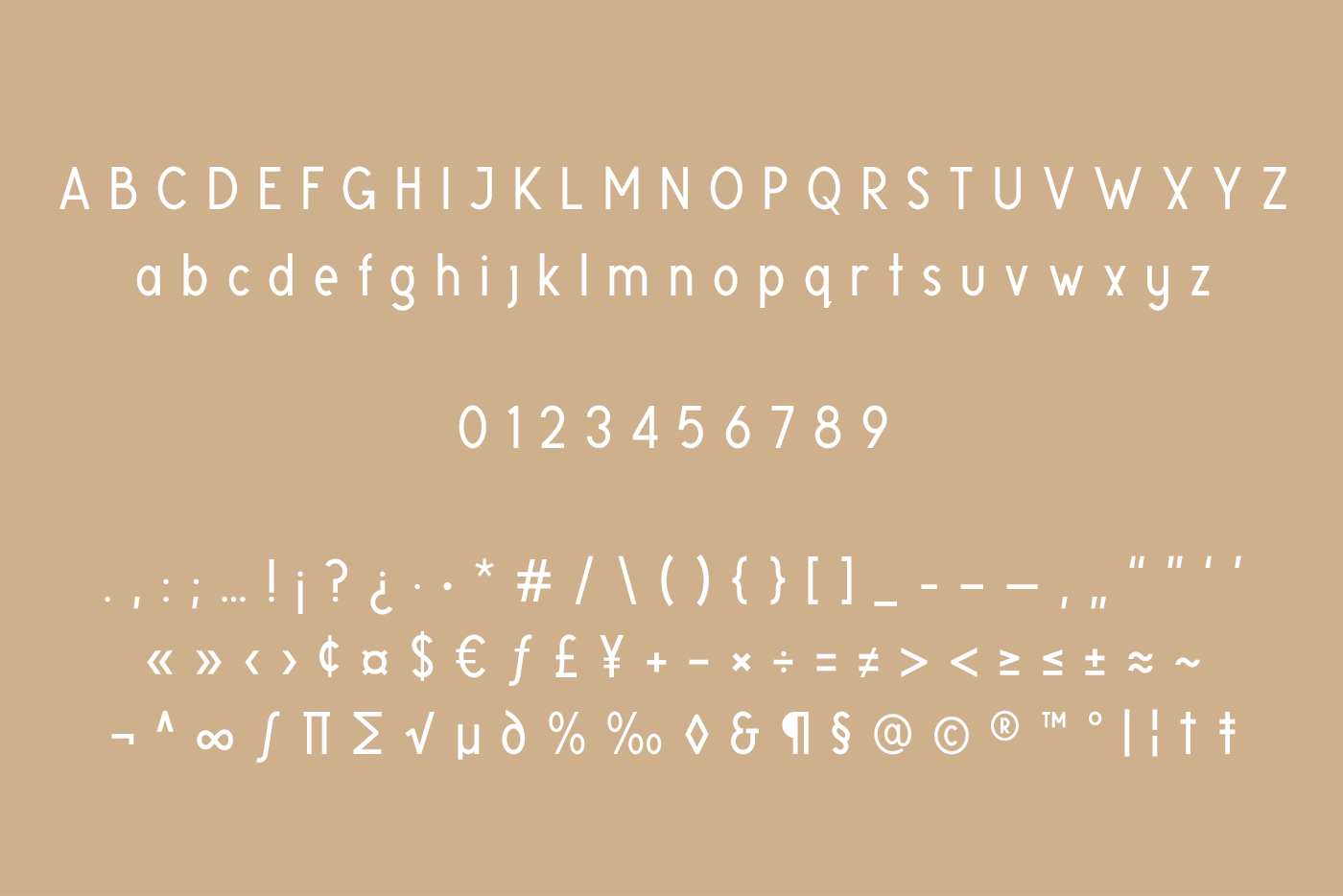 Glaschu Font Family example image 2